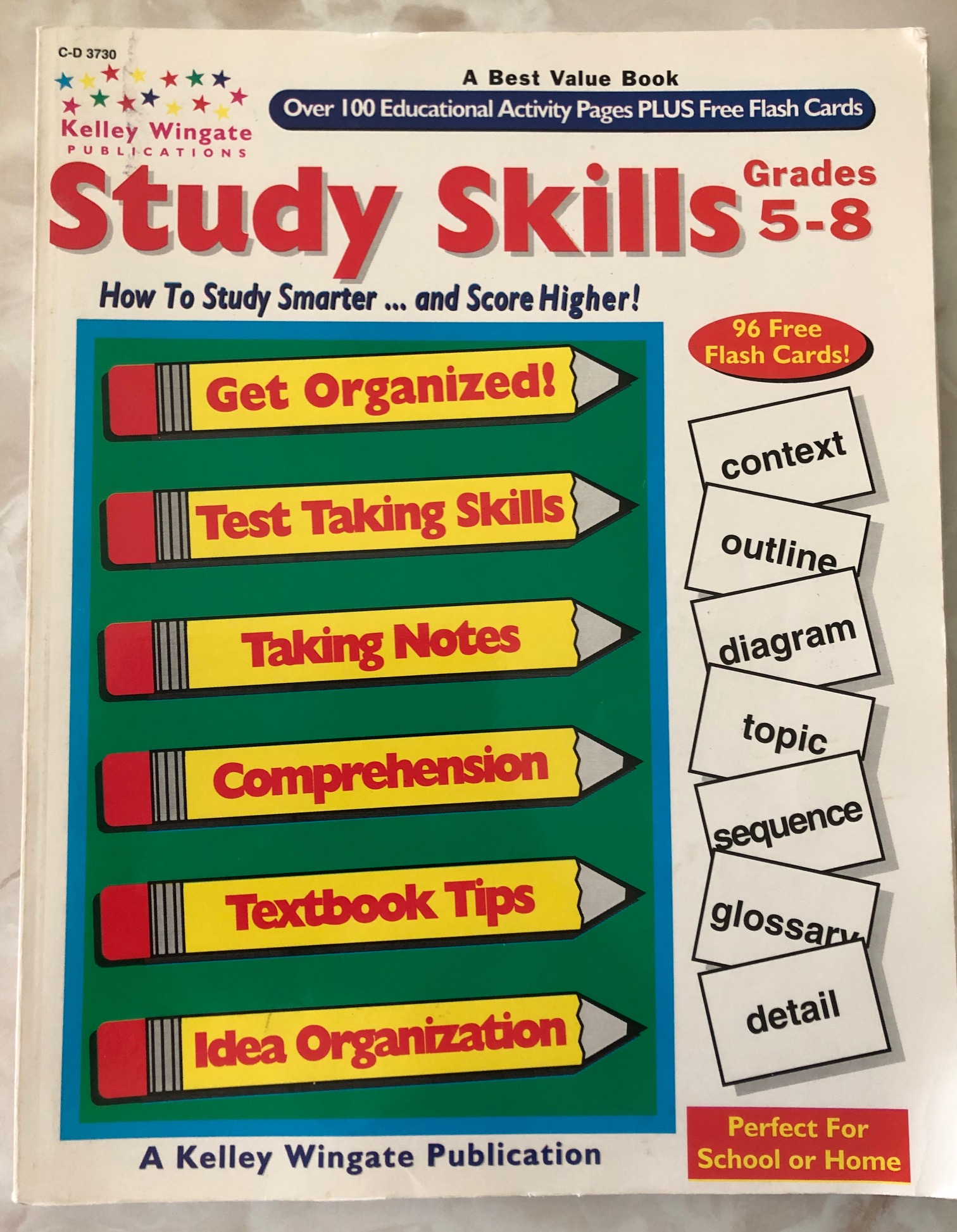 Study Skills books - two together, Grs. K-8 -- $14 ppd. Good. ISBN  0887244483 [more] limkefamily91 01/09